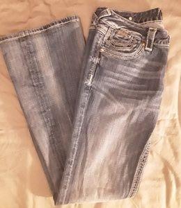 Express Rerock Jeans EUC Size 6 Regular